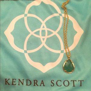 Kendra Scott emerald cat eye gem Kiri